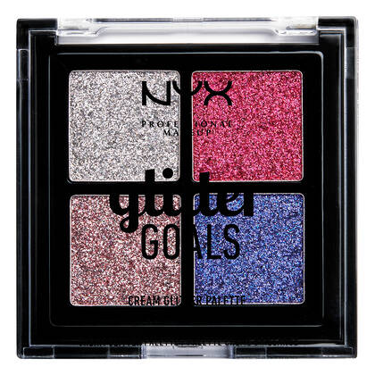 GLITTER GOALS CREAM QUADRIO PALETA BROKATÓW
