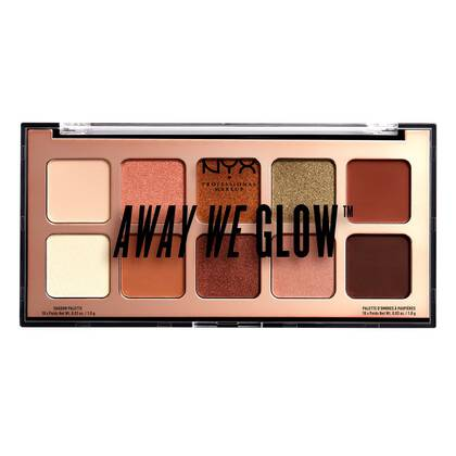 AWAY WE GLOW Paleta Cieni Do Powiek